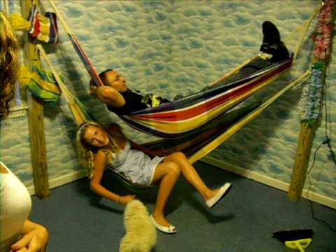hammock bunk beds #3. the final product - Hammock Bunk Beds #3. The Final Product - YouTube