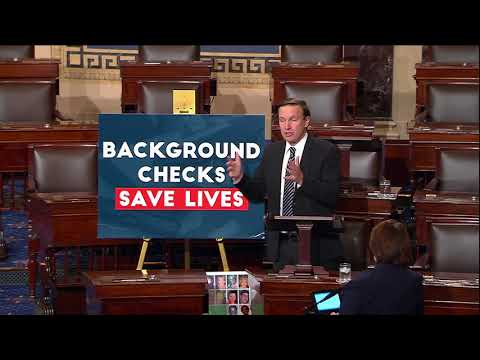 "Senator Murphy Delivers ""Voices of Victims"" Speech, Demands Congress Act To Expand Background Checks"