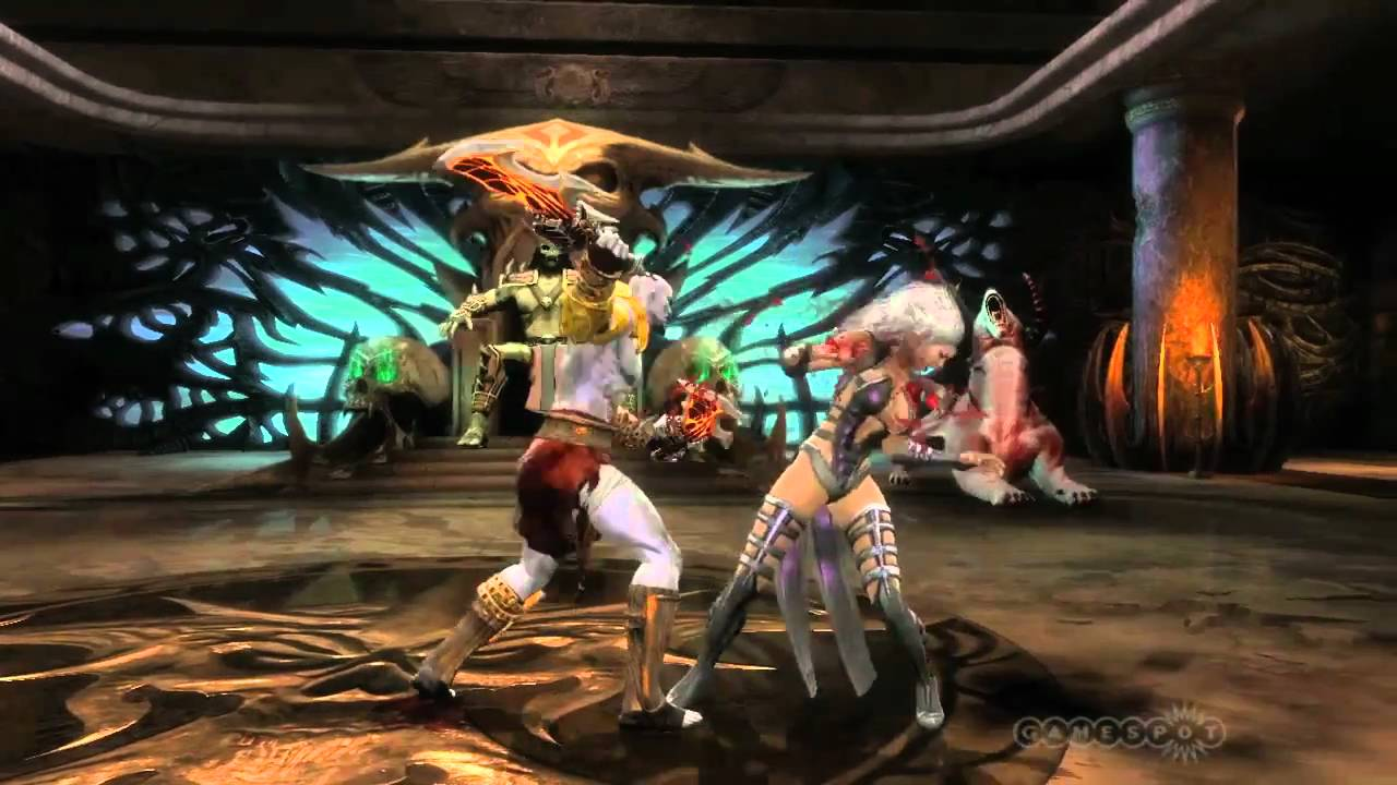 First Gameplay Video of Kratos in Mortal Kombat Appears