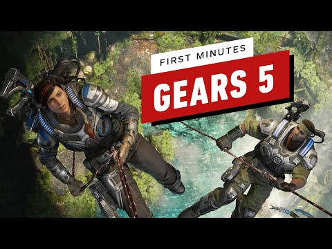 The First 19 Minutes of Gears 5 Gameplay in 4K 60 FPS