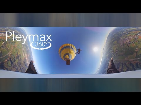 Skydiving in 360º VR