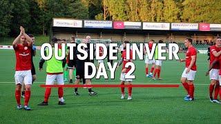 OUTSIDE INVER   Larne vs Bala Town part 2