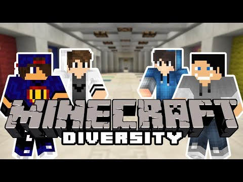 Minecraft Parkour: Diversity Map II - Dropper... O Najn [1/x