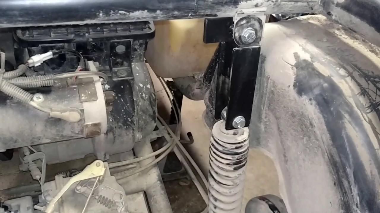 Economy lift kit for Yamaha g16 golf cart. - YouTube on yamaha rx-1 snowmobile front suspension mount, yamaha golf carts brand, big golf cart lift,