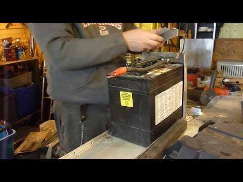 LOCKING BATTERY BOX FABRICATION (RV UPGRADES )