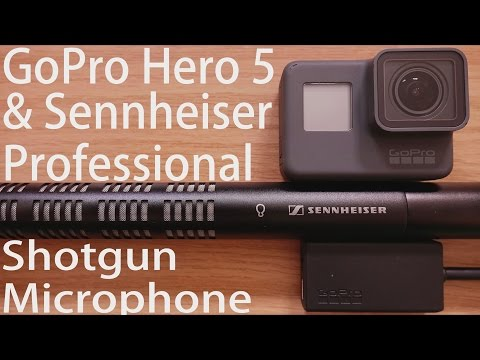 GoPro Hero5 Black MicTest Shotgun Microphone & 3.5MM External USB C Adapter - Bad Audio Problems