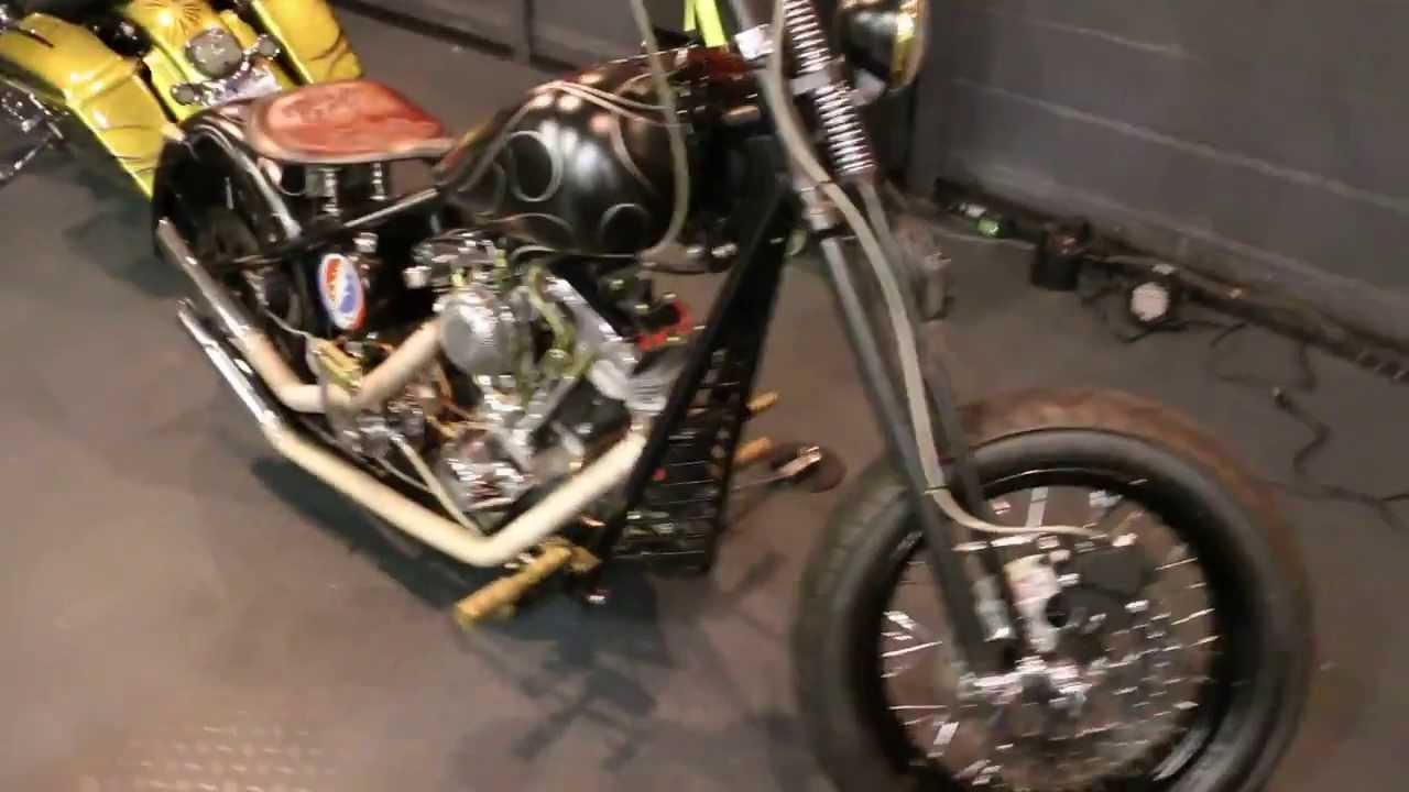1975 Harley Davidson Shovelhead for Sale~Custom Built Rigid Harley ...