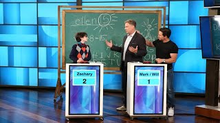 Will Ferrell and Mark Wahlberg Test Their Knowledge Against Whiz Kid