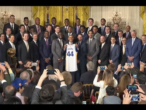 Thumbnail: The President Honors the Golden State Warriors, 2015 NBA Champions