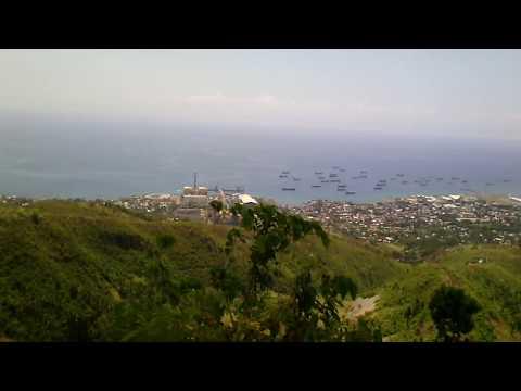 View at City of Naga, Cebu
