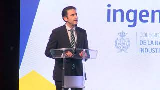 Discurso Jose Antonio Galdon en los II Premios ingenierosVA de la Industria
