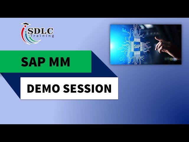 SAP MM Demo Session   SDLC Training Marathahalli Bangalore