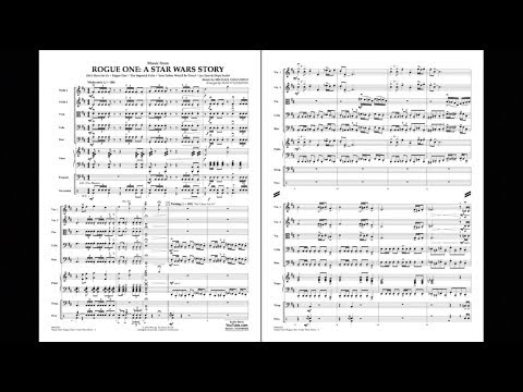 Music from Rogue One: A Star Wars Story by Michael Giacchino/arr. Sean O'Loughlin