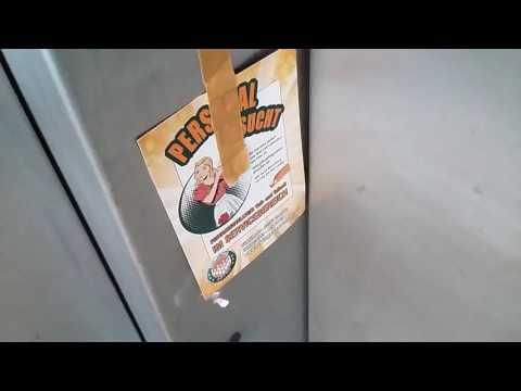 Tepper Aufzug bei der Bowling Arena in Dresden