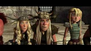 How to train your dragon (Drachenzähmen) - Trailer Cz