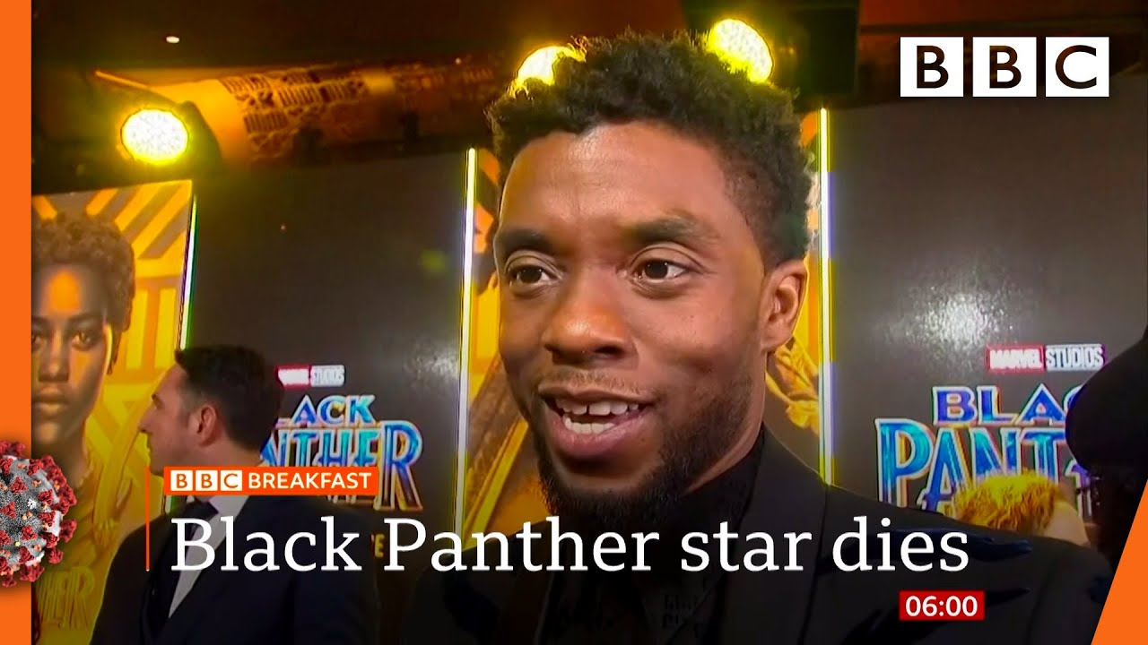 Chadwick Boseman: Black Panther star dies of cancer | Watch @BBC News live on iPlayer - BBC
