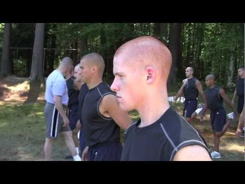 RI State Police defense training: How to control the body, get mentally prepared