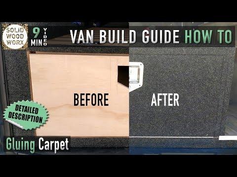 Lets talk van conversion carpeting