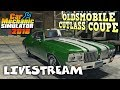 Junkyard Rebuild - Oldsmobile Cutlass Coupe - Car Mechanic Simulator 2018 Gameplay - Livestream