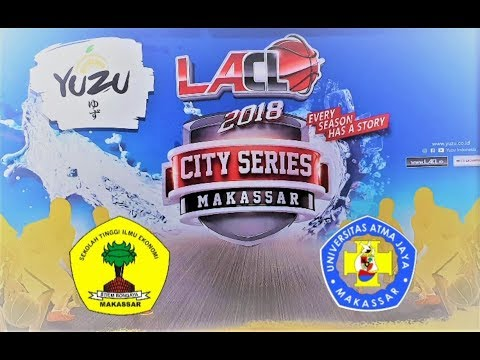 FULL HIGHLIGHTS : STIEM BONGAYA Vs ATMA JAYA MAKASSAR  (LA CAMPUS LEAGUE 2018 - MAKASSAR SERIES)
