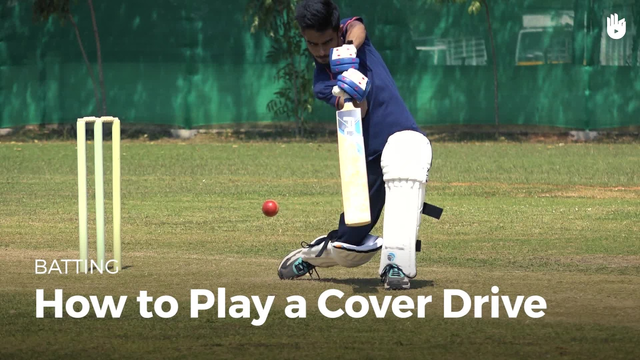 How to Play a Cover Drive | Cricket