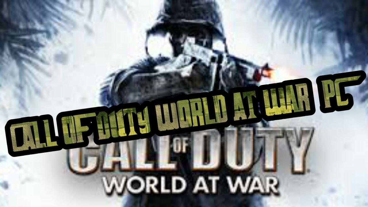 Download call of duty 5 world at war multiplayer with sp | backbox.