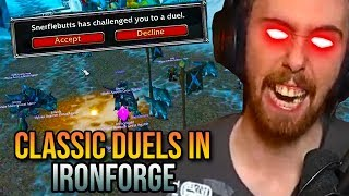 Asmongold - The Classic WoW Beta Is Back - Ironforge Duels