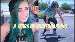 Skate Progression 2017 (Girl Skateboarder)