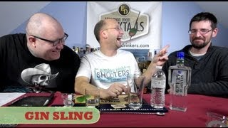 Gin Sling, Old-School Classic How-To