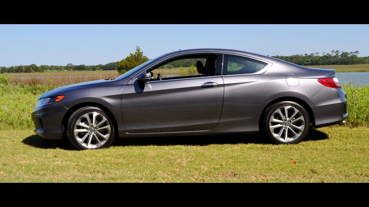 2014 Honda Accord Coupe 6 Speed V6   Second Drive   Full Throttle Rolling  Starts   YouTube