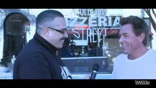 RICHIE PALMER talks PIZZA & BOXING | MULBERRY ST PIZZERIA