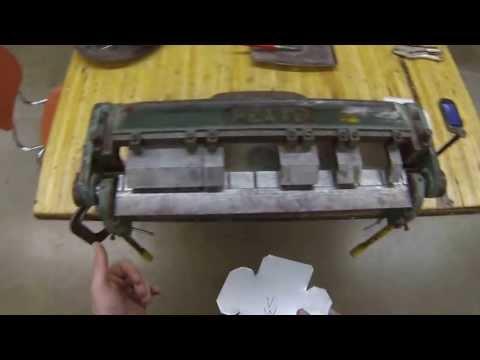 Sheet Metal Box- Bending the box