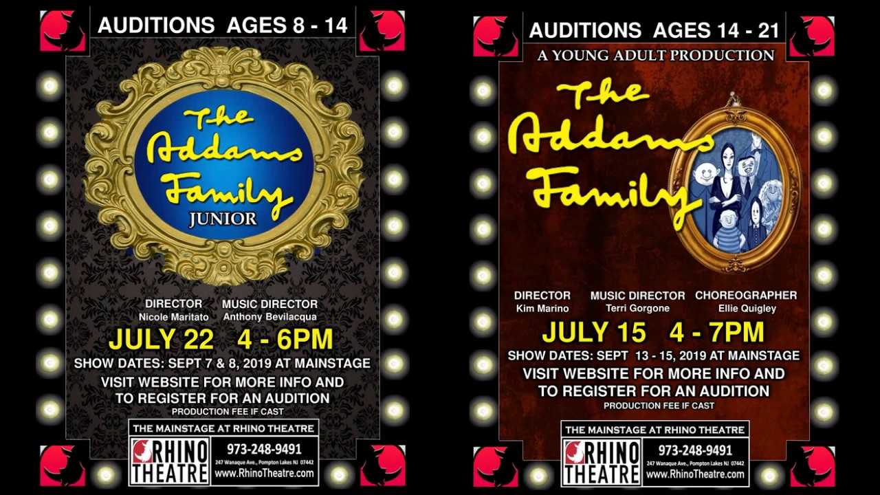 AUDITIONS FOR KIDS AND TEENS AT RHINO THEATRE!