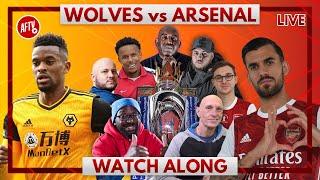 Wolves vs Arsenal | Watch Along Live