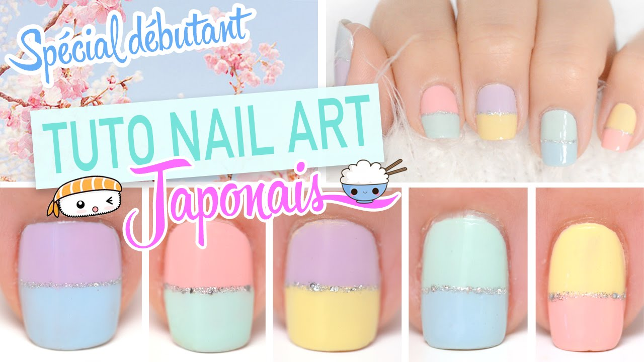 Yoko Nail Art Cupcake : Nail art tres facile ? Inspiration Japonaise - YouTube