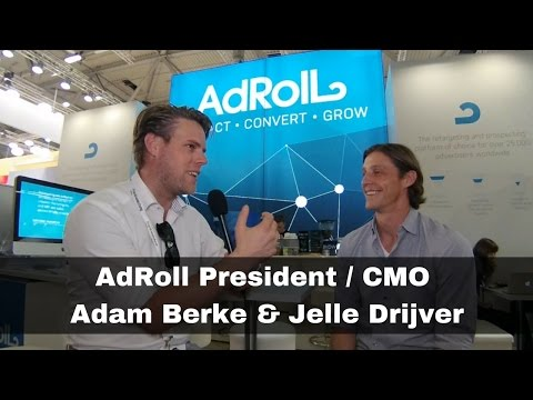 Managing your online advertising with AdRoll - President CMO Adam Berke