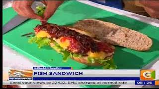 Breakfast Tips: Fish sandwich, Omelettes, Garlic Bread