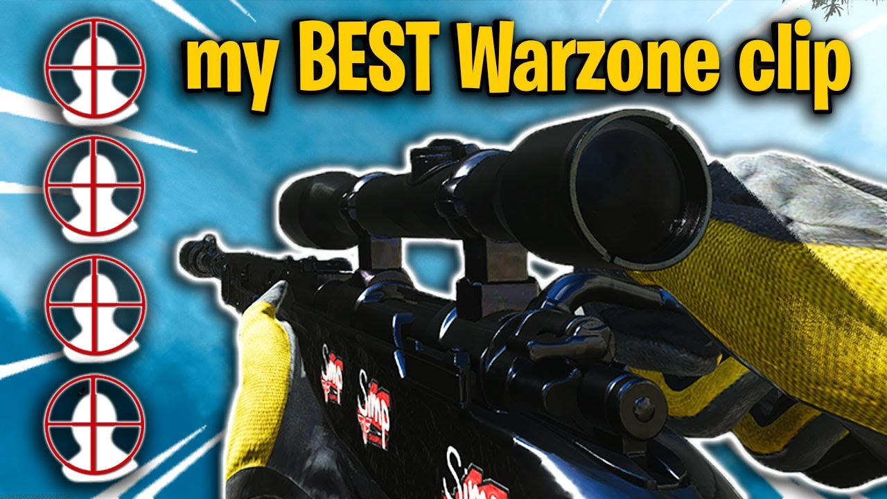 I hit a CRAZY sniping clip on the new Warzone season