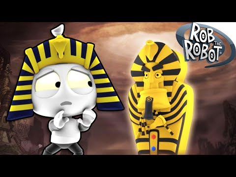 The Mummy and The Robot | Animation Movies For Kids | Rob The Robot