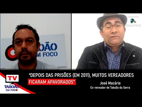 Entrevista com Macário, ex-presidente da Câmara de Taboão da Serra