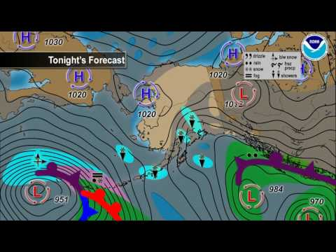 January 21, 2017 Alaska Weather Daily Briefing