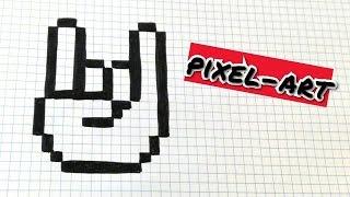 Draw Handmade Pixel Art- Como dibujar una MANO