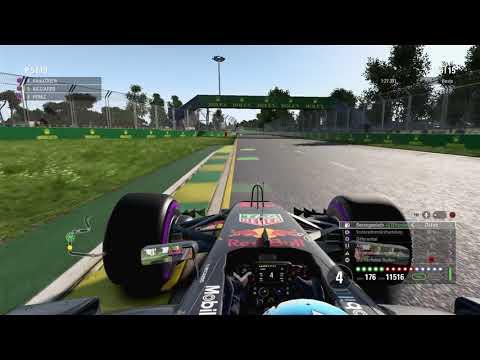 F1 2017 - Melbourne 25% - Ricciardo [HD]