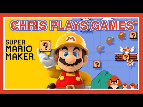 Super Mario Maker - Wii U! - Live!