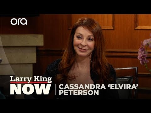 If You Only Knew: Cassandra 'Elvira' Peterson | Larry King Now | Ora.TV