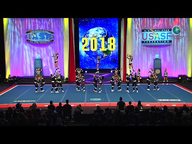Top Gun All Stars - OO5 [2018 International Open Large Coed Level 5 Trials]