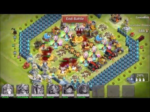 Guild Wars Vs Top Rank Might Guild Silent Knights Top 5 Arena Castle Clash