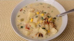 Homemade Clam Chowder Recipe - Laura Vitale - Laura in the Kitchen Episode 413