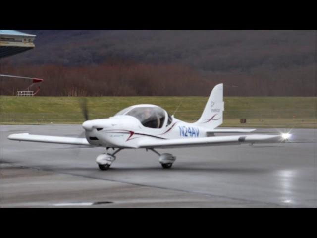 Evektor Sportstar MAX takeoff at William T. Piper Memorial April 2017