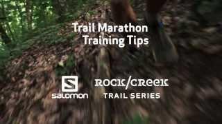Trail Marathon Training Tip #1 - Wear Trail Running Shoes